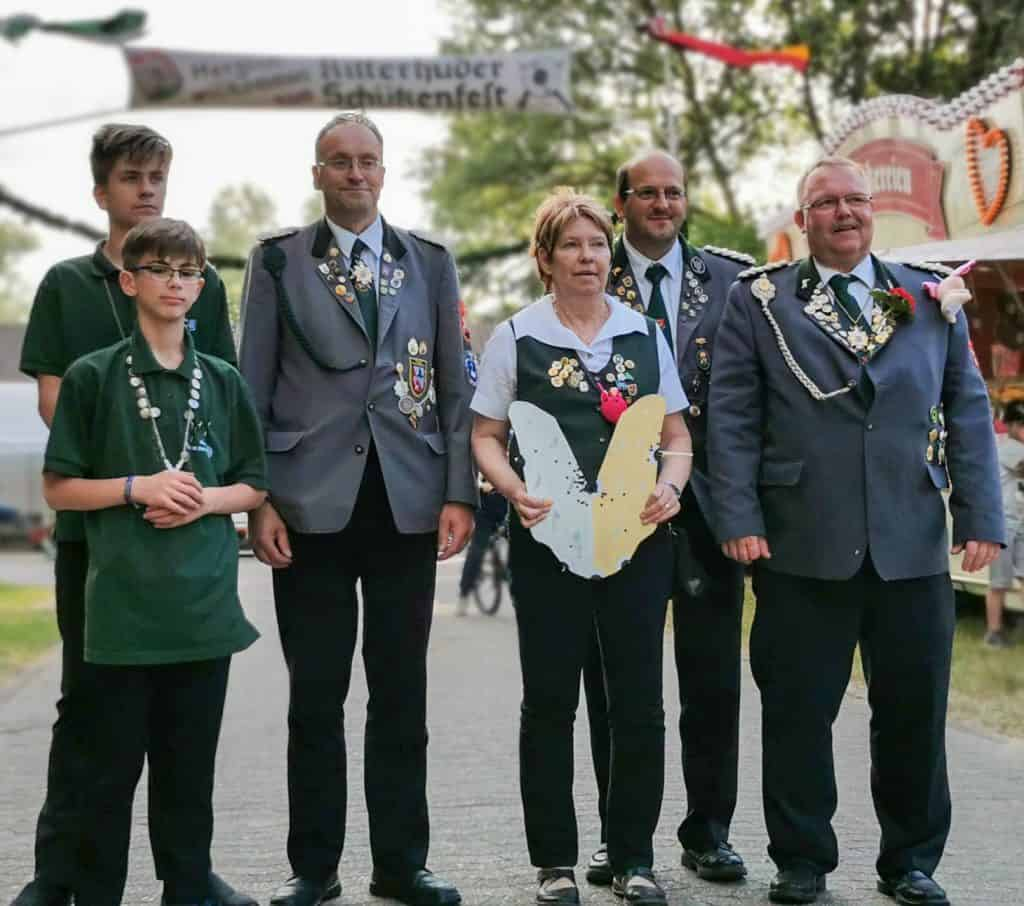 Königshaus Ritterhuder Schützenverein 2019